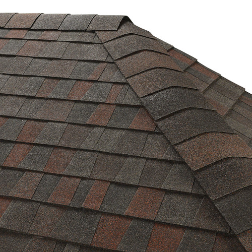 GAF Seal A Ridge 25-lin ft Midnight Blush Hip and Ridge Roof Shingles