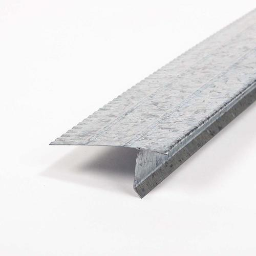 F4-1/2 2.43-in x 10-ft Galvanized Steel Drip Edge