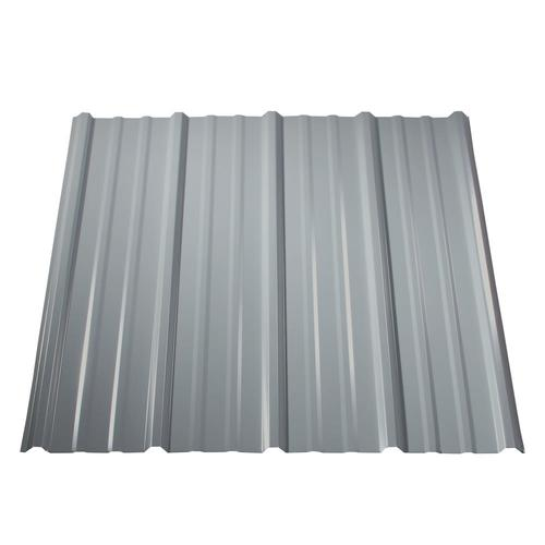Metal Sales Pro-Panel II 3-ft x 8-ft Ribbed Steel Roof Panel