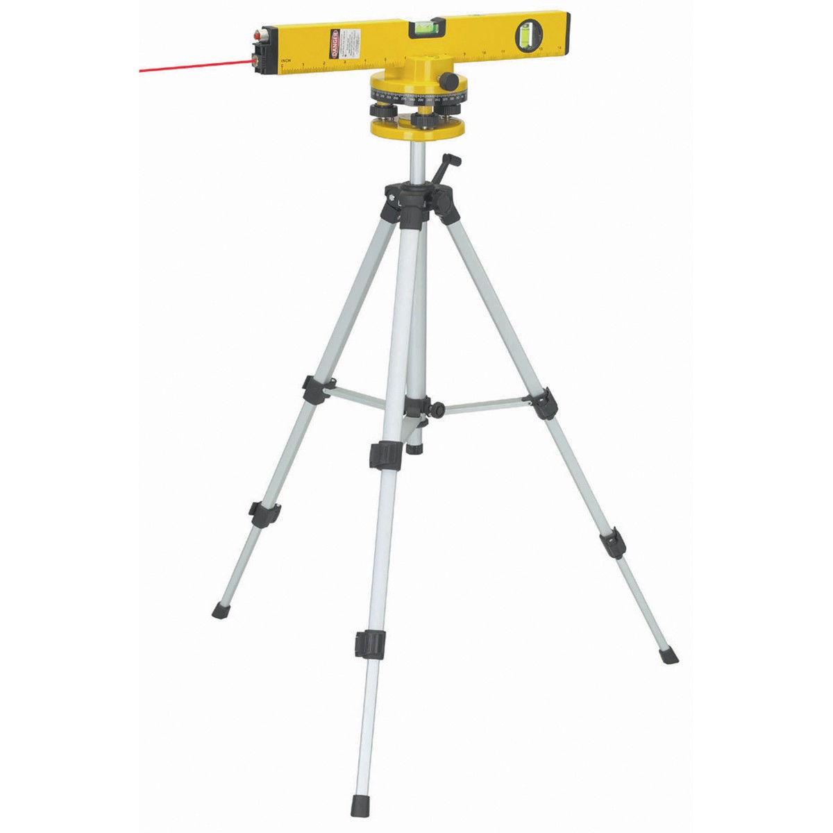 16 In. Laser Level with Swivel Head