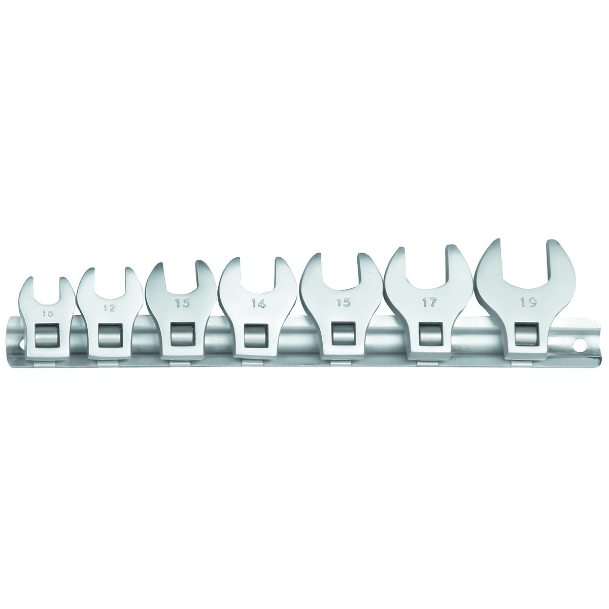 7 Pc 3/8 in. SAE Crowfoot Wrench Set